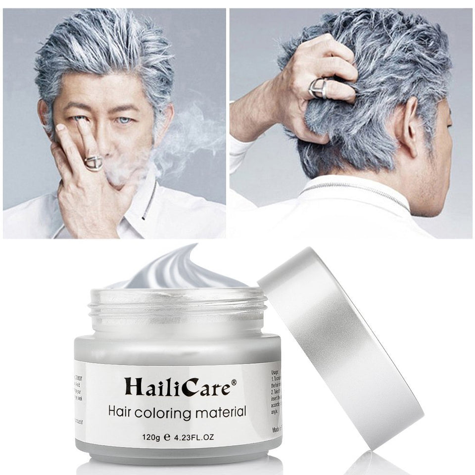 HailiCare Coloring Hair Wax 4.23 oz, Professional Hair Wax, Hair Dye Wax for Party, Cosplay
