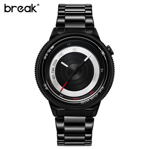BREAK ZOOM 2.0 STEEL WATCH