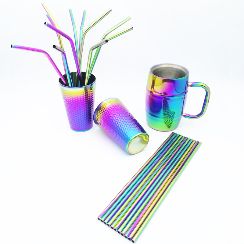 CupRainbow™ - Premium Rainbow Iridescent Stainless Steel Party Cup and Beer Mug