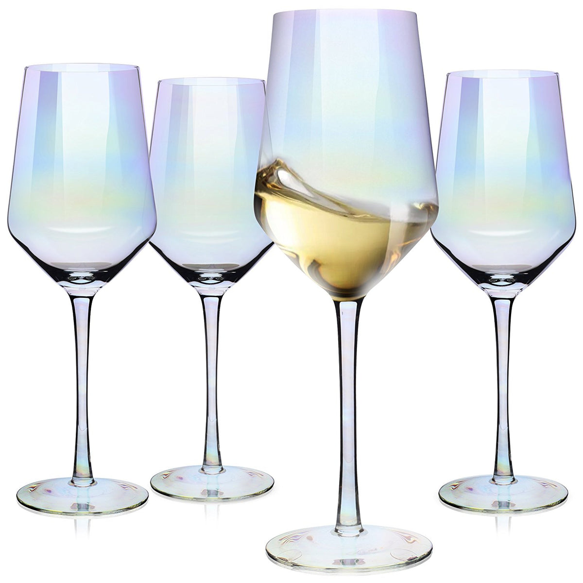 WineRainbow™ - Premium Rainbow Iridescent Crystal Wine Glasses