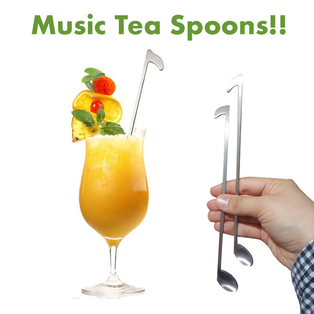 MusicTea™ - Premium Stainless Steel Tea, Coffee or Ice Cream