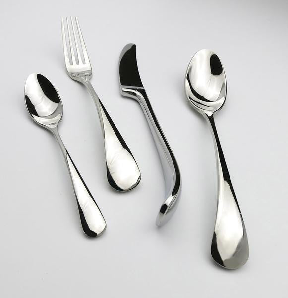 SideJet™ - Stainless Steel Silverware Set (8 / 16 / 24 Pieces)