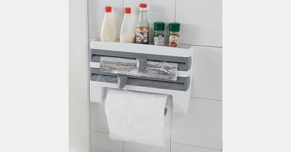 iDispenser™ - Kitchen Roll Holder Dispenser
