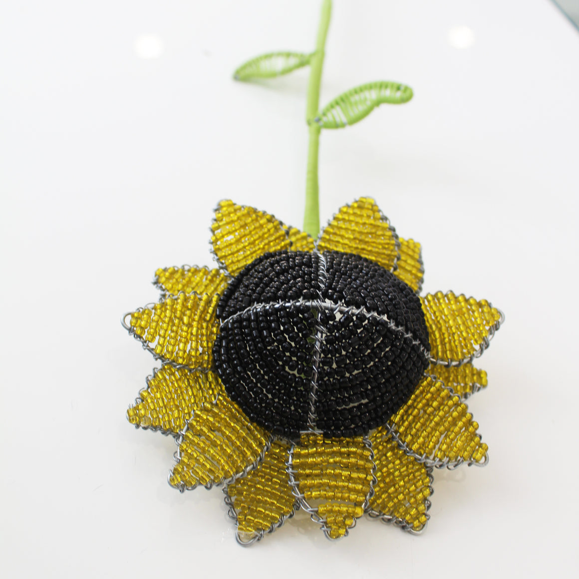 Yellow Beaded Sunflower