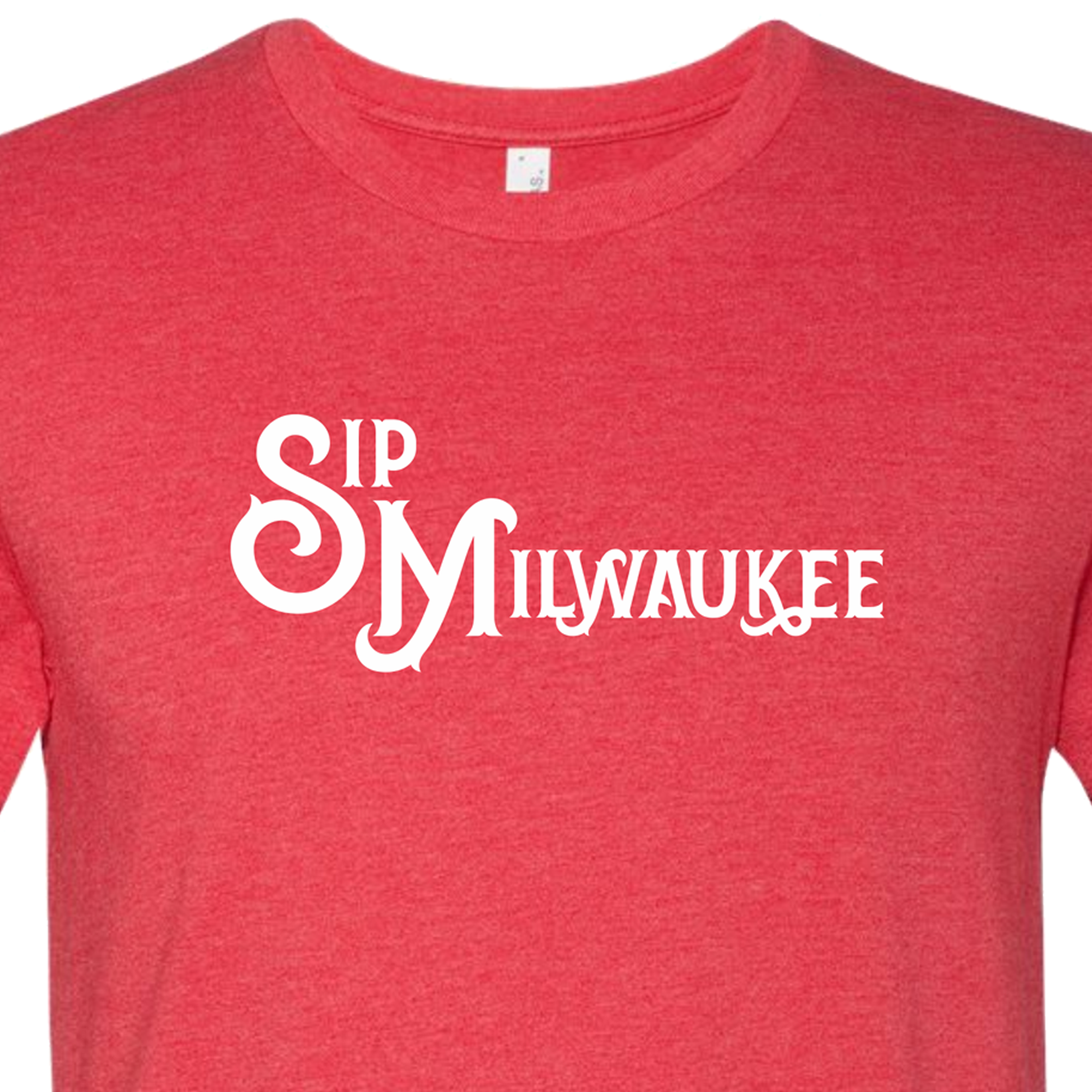 """University Red"" SipMilwaukee Shirt"