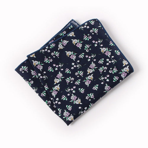The Azurio Floral Pocket Square N°7 by SCOTCH & TIES