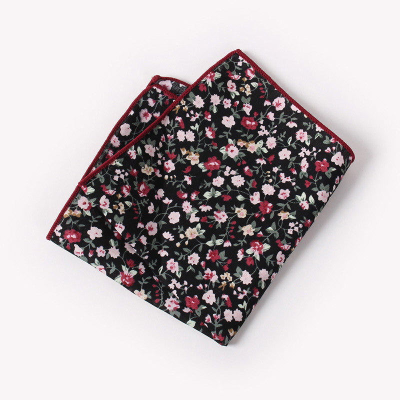 The Donatello Floral Pocket Square N°4 by SCOTCH & TIES