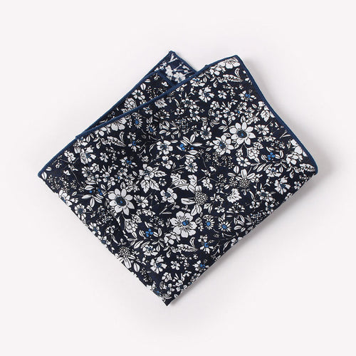 The Siriano Floral Pocket Square N°1 by SCOTCH & TIES
