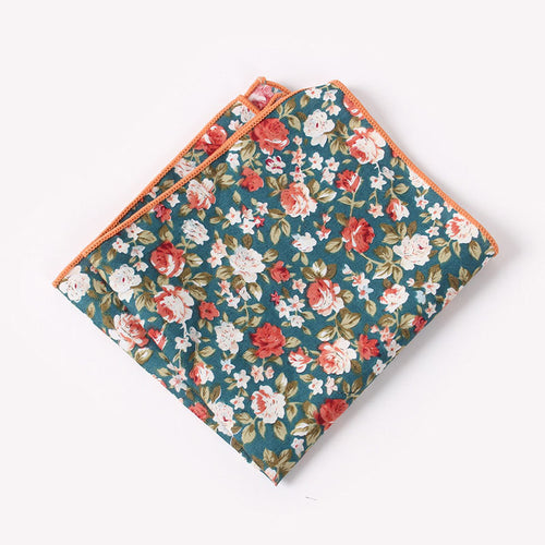 The Wolfgang Floral Pocket Square N°3 by SCOTCH & TIES