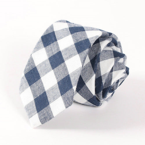The Arthur Gingham Tie N°1 by SCOTCH & TIES
