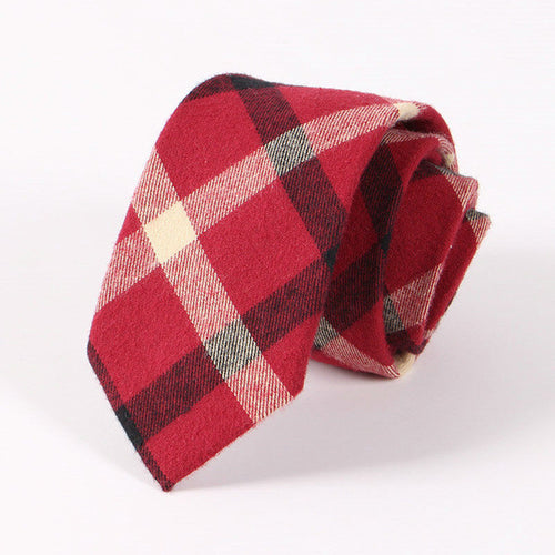 The Astaire Gingham Tie N°6 by SCOTCH & TIES