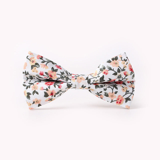 The Champagne Madness Floral Bow Tie N°2 by SCOTCH & TIES
