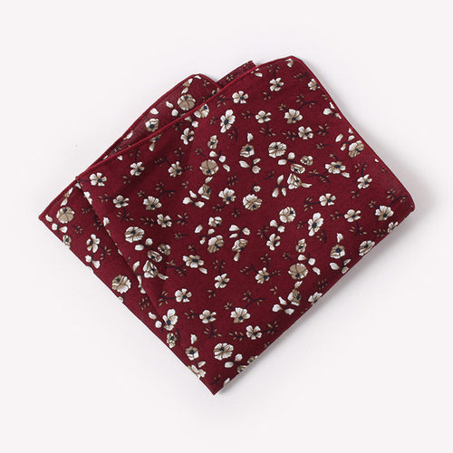 The Valentino Floral Pocket Square N°6 by SCOTCH & TIES