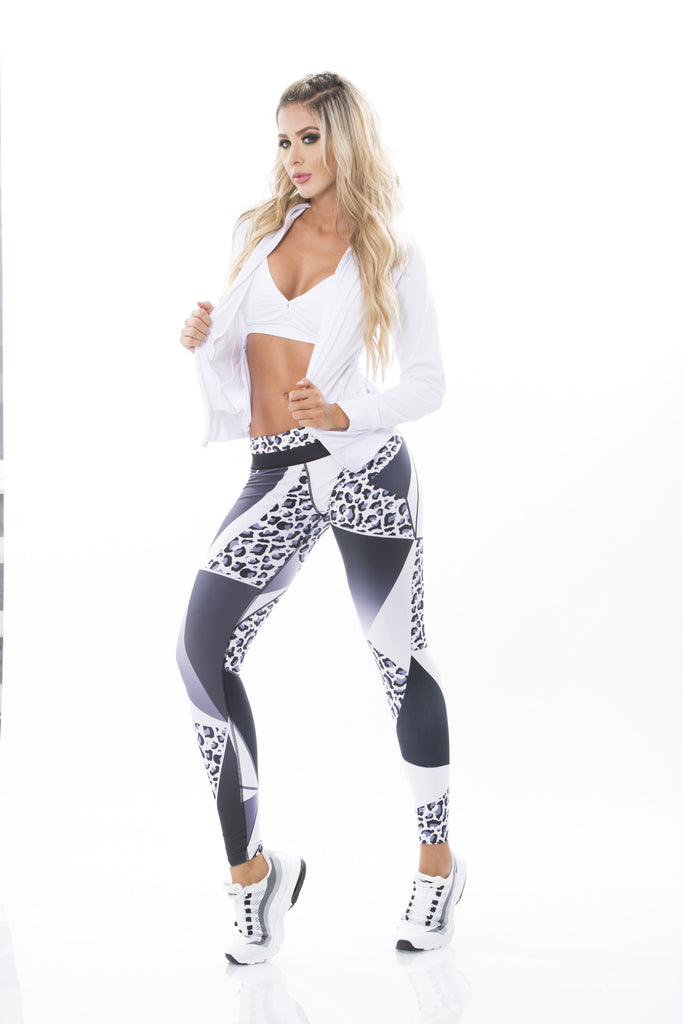 Snow Leopard Legging