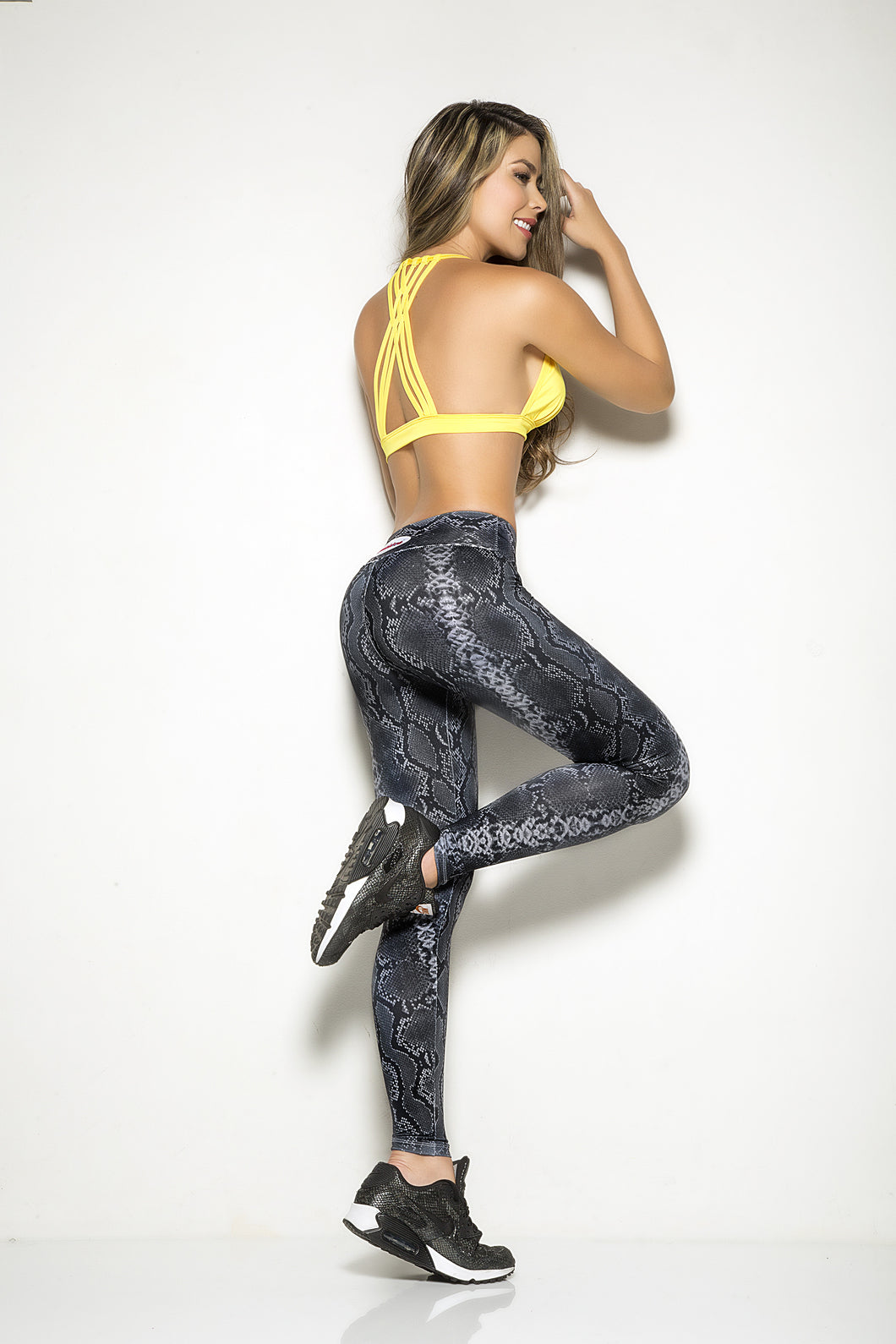 Gray snake Legging