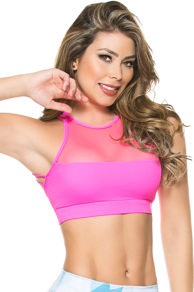 Mesh Everything Sports Bra