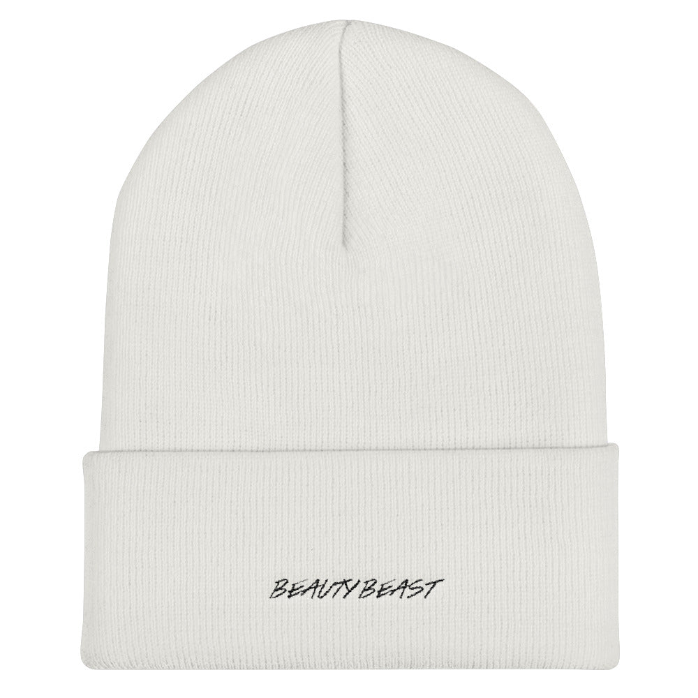 Beauty Beast Cuffed Beanie