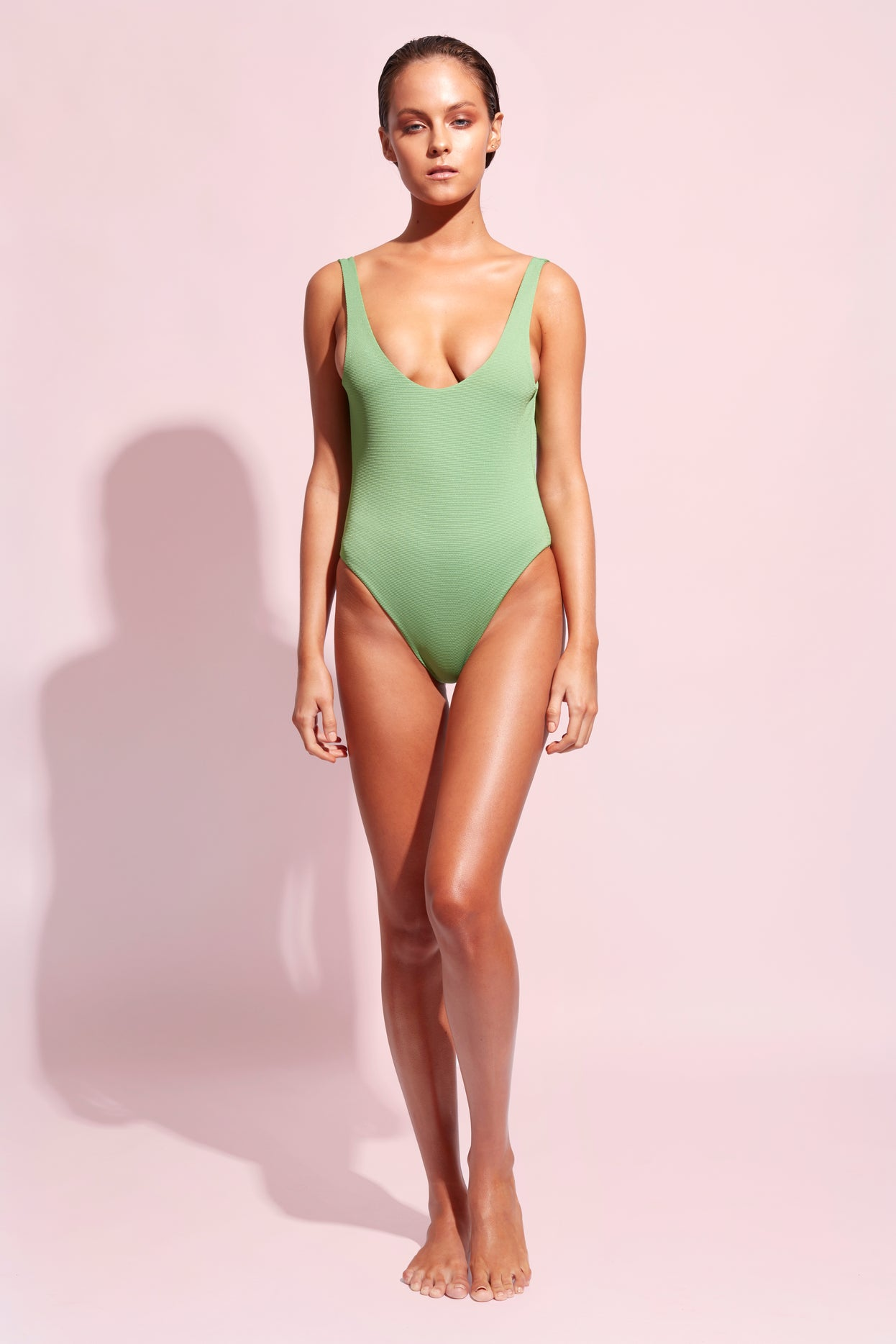 ALEXA ONE PIECE - SPEARMINT green - Wildaster