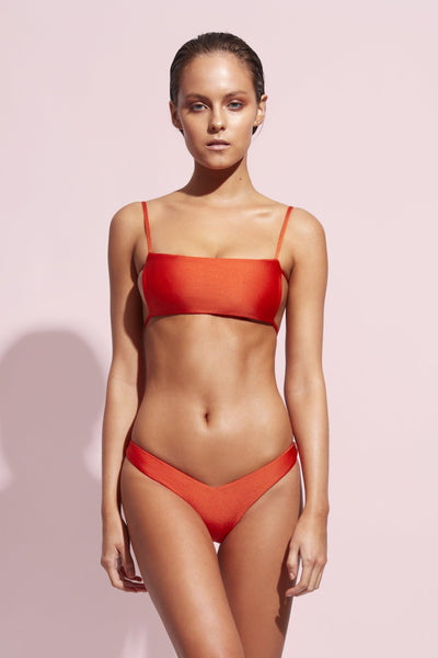 JENA TOP - HEATWAVE orange - Wildaster