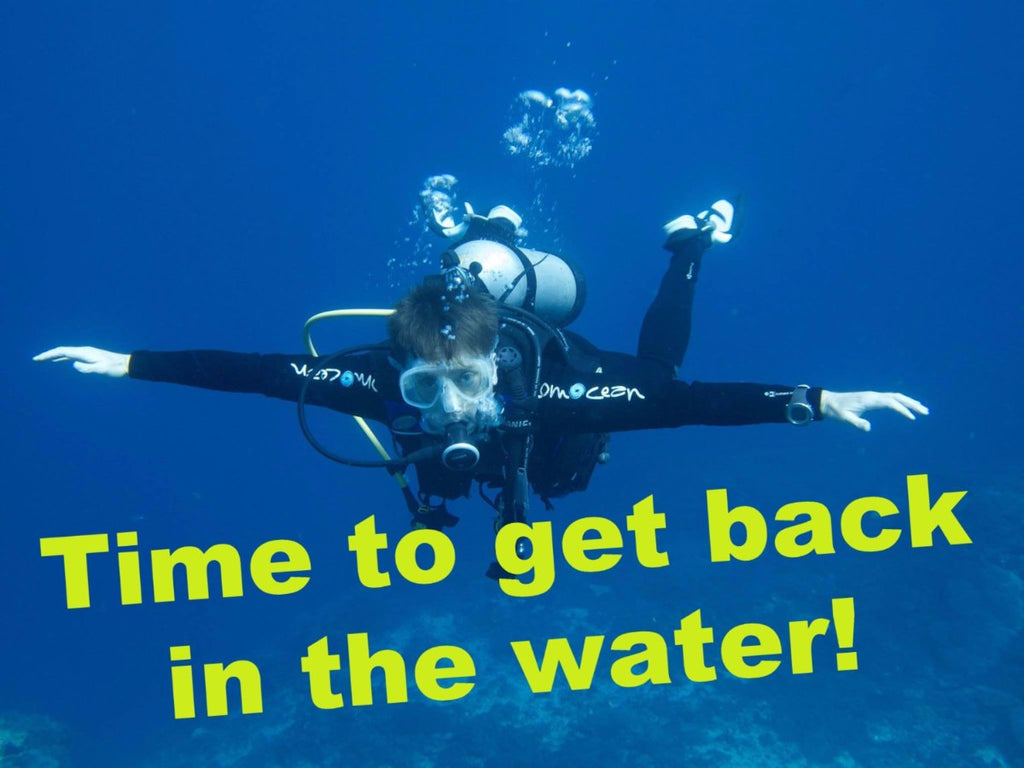 Refresher course, re-activate your scuba!
