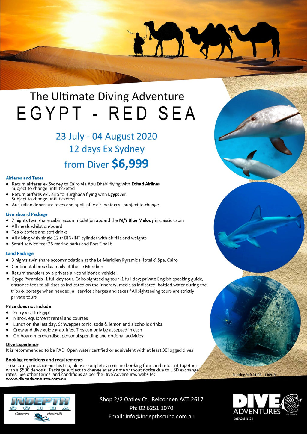 Dive The Red Sea, Egypt - 23rd July to 4th August 2020