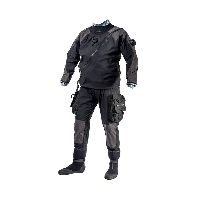 Mares XR1 AQS kevlar and silicone drysuit