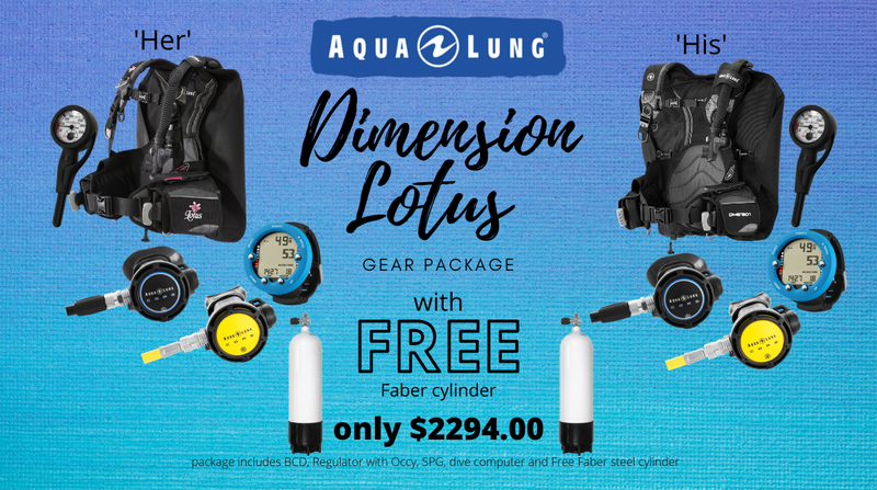 Dimension Lotus package with Free Faber cylinder