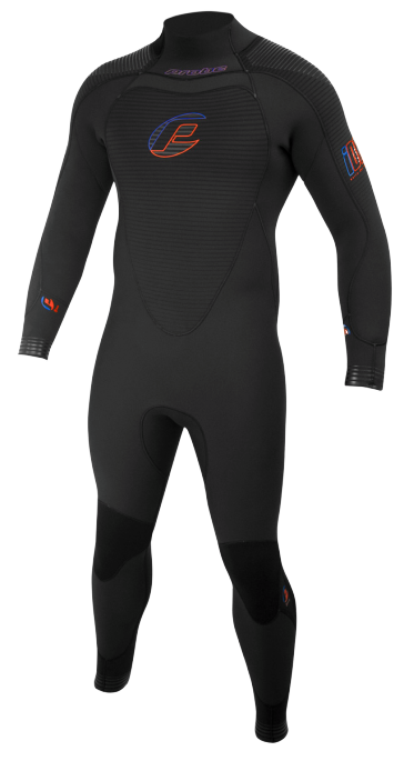 Probe iDry 5mm semi-dry wetsuit - mens