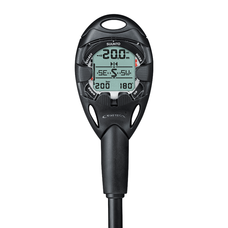 Suunto Cobra 3 black with quick release and USB