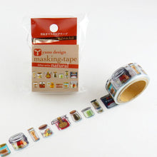 Masking Tape -  ROUND TOP, Preserves, 20mm x 5m