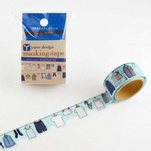 Masking Tape -  ROUND TOP, Laundry, 20mm x 5m