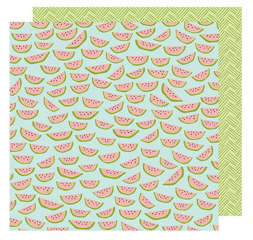 Cardstock - Dear Lizzy, Happy Place, Wild Watermelon - KEY Handmade