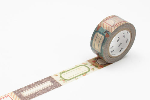 Masking Tape - mt ex, Label, 20mm x 10m - KEY Handmade  - 1