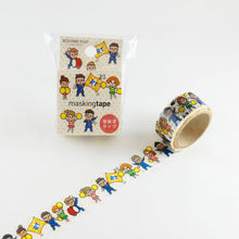 Masking Tape - ROUND TOP, Cheering Team, 20mm x 5m - KEY Handmade  - 3
