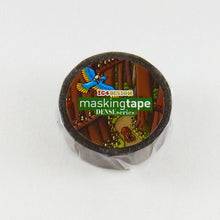 Masking Tape - ROUND TOP, The Macro World, 15mm x 10m - KEY Handmade  - 2