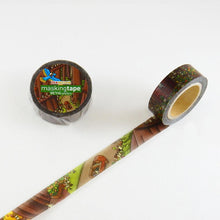 Masking Tape - ROUND TOP, The Macro World, 15mm x 10m - KEY Handmade  - 3