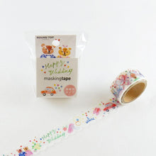 Masking Tape - ROUND TOP, Happy Wedding, 20mm x 5m - KEY Handmade  - 3