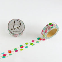 Masking Tape - ROUND TOP, Balloon, 15mm x 10m - KEY Handmade  - 3