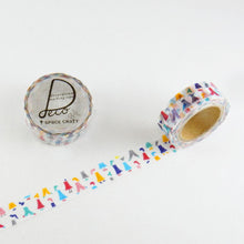 Masking Tape - ROUND TOP, Girl, 15mm x 10m - KEY Handmade  - 3
