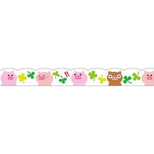 Masking Tape - PINE BOOK Nami-Nami Deco Masking Tape, Pigs, 8mm x 8m - KEY Handmade  - 4