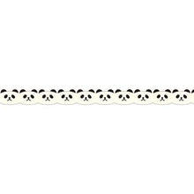 Masking Tape - PINE BOOK Nami-Nami Deco Masking Tape, Panda Face, 8mm x 8m - KEY Handmade  - 4
