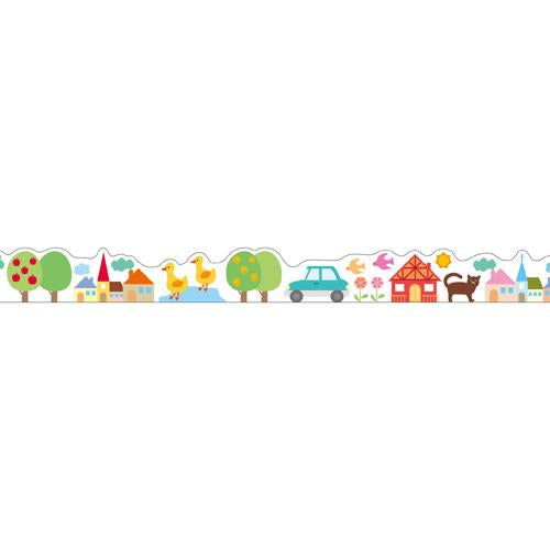 Masking Tape - Nami-Nami Masking Tape, Country, 15mm x 10m