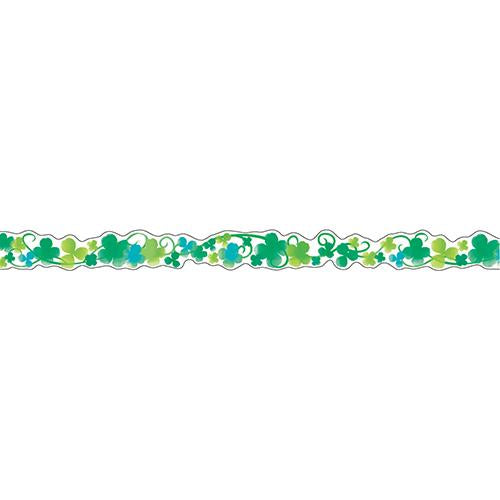 Masking Tape - Nami-Nami Deco Masking, Watercolor clover, 8mm x 8m