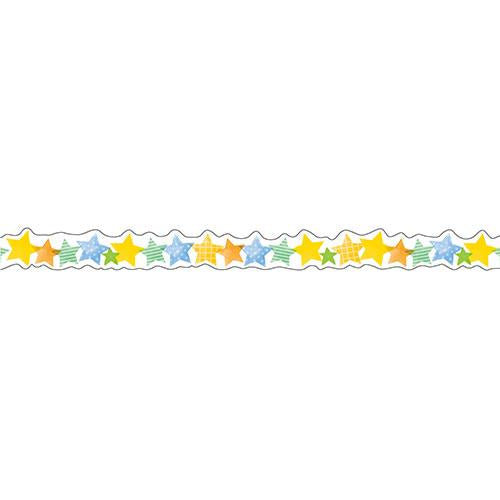 Masking Tape - Nami-Nami Deco Masking Tape, Watercolor star, 8mm x 8m