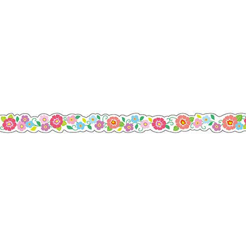 Masking Tape - Nami-Nami Deco Masking Tape, Flower Garland , 8mm x 8m