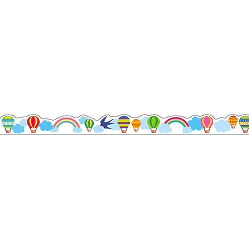 Masking Tape - Nami-Nami Deco Masking Tape, Balloon, 8mm x 8m
