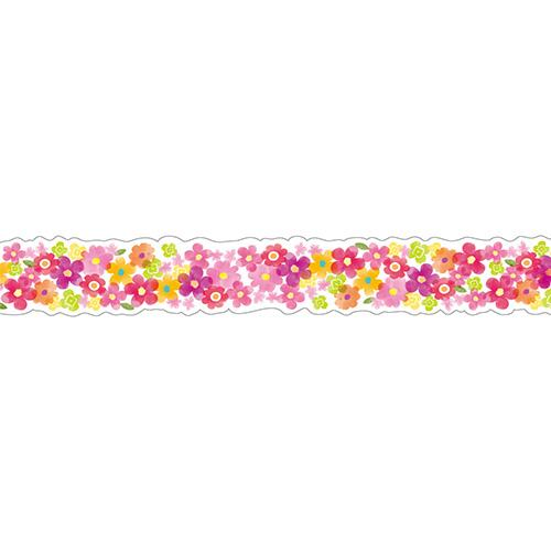 Masking Tape - Nami-Nami Masking Tape, Petit Flower Red, 15mm x 10m