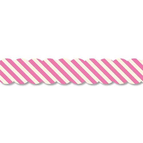 PINE BOOK Assorted Style Nami-Nami Masking Tape, Pink Strip