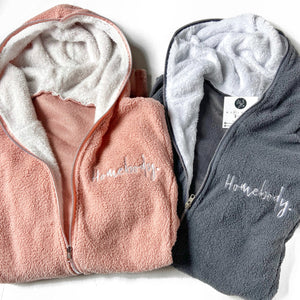 Homebody Fuzzy Zip Up