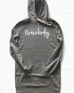 Homebody Hooded Sweater Dress